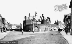 Wokingham, Market Square 1906