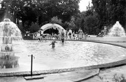 Wokingham, Martin's Swimming Pool c.1955