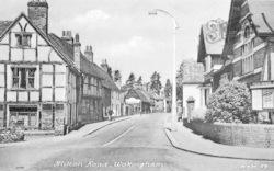Wokingham, Milton Road c.1955