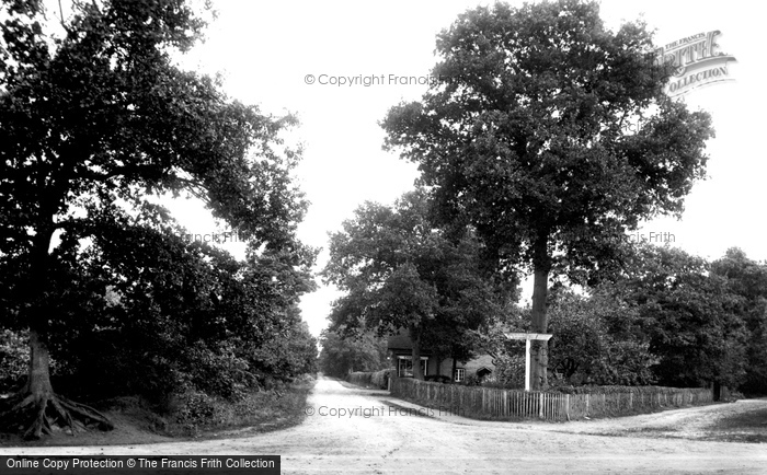 Photo of Wokingham, Nine Mile Ride 1909
