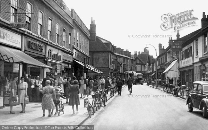 Photo of Wokingham, Peach Street 1949