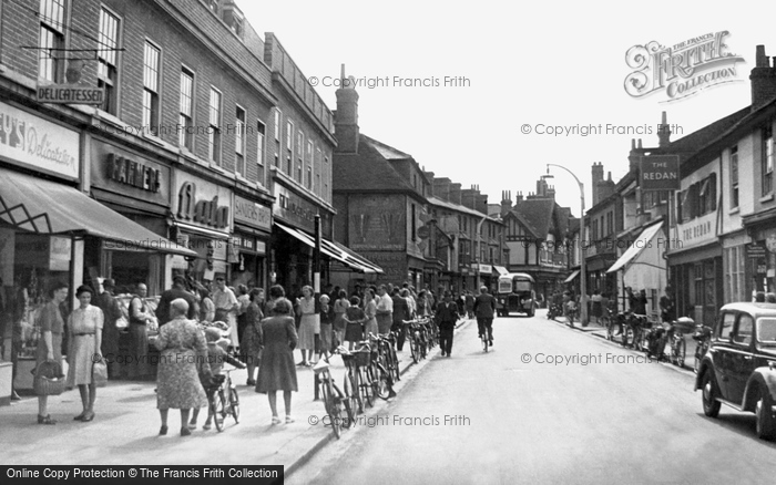 Photo of Wokingham, Peach Street 1949