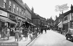 Wokingham, Peach Street 1949
