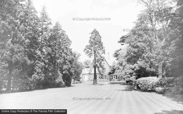 Photo of Wokingham, Public Rest Garden c.1950