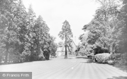 Wokingham, Public Rest Garden c.1950