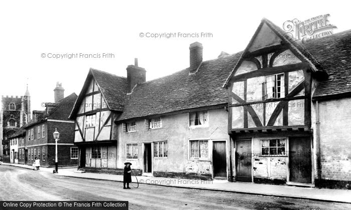 Photo of Wokingham, Rose Street 1906