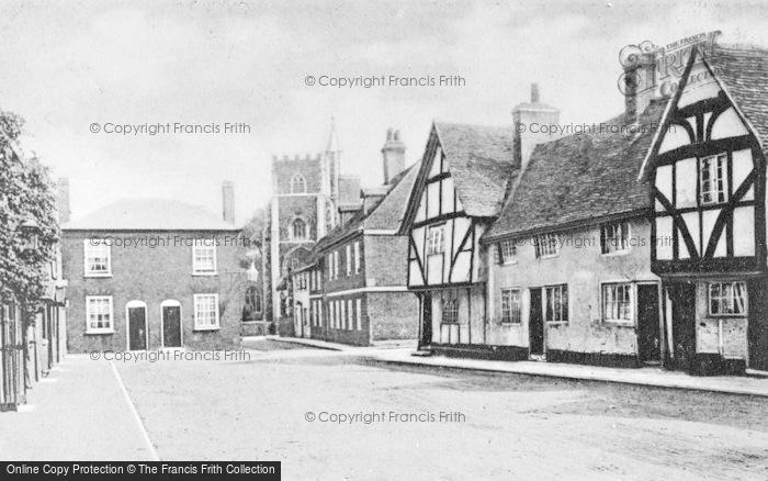 Photo of Wokingham, Rose Street c.1900