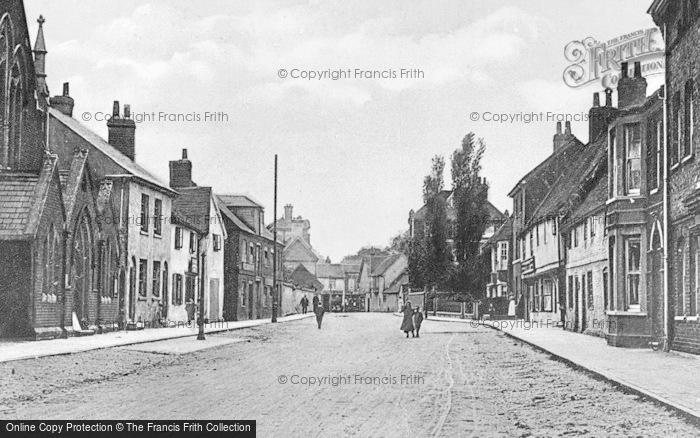 Photo of Wokingham, Rose Street c.1920