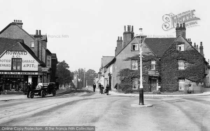 Photo of Wokingham, Shute End From Broad Street 1906