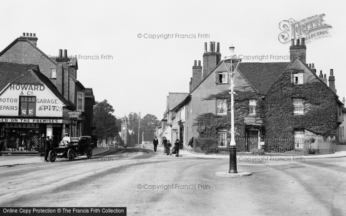 Photo of Wokingham, Shute End from Broad Street 1906
