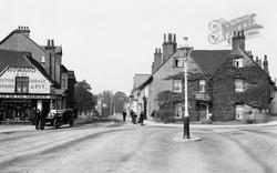 Wokingham, Shute End From Broad Street 1906