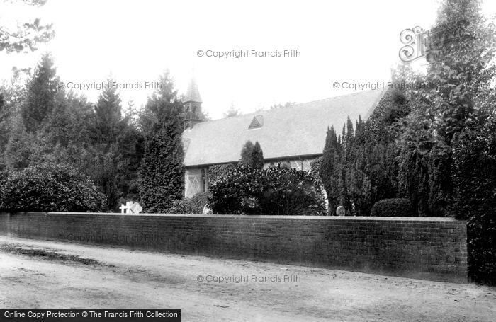 Photo of Wokingham, St Sebastian's Church And Nine Mile Ride 1910