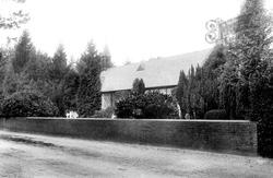 St Sebastian's Church And Nine Mile Ride 1910, Wokingham