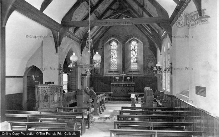 Photo of Wokingham, St Sebastian's Church Interior 1910