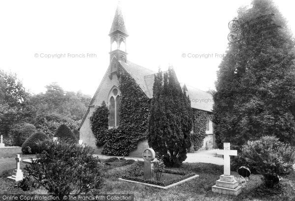 Photo of Wokingham, St Sebastian's Church, Nine Mile Ride 1910