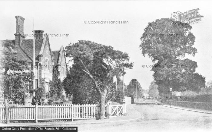 Photo of Wokingham, Station Road c.1910