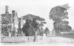Wokingham, Station Road c.1910