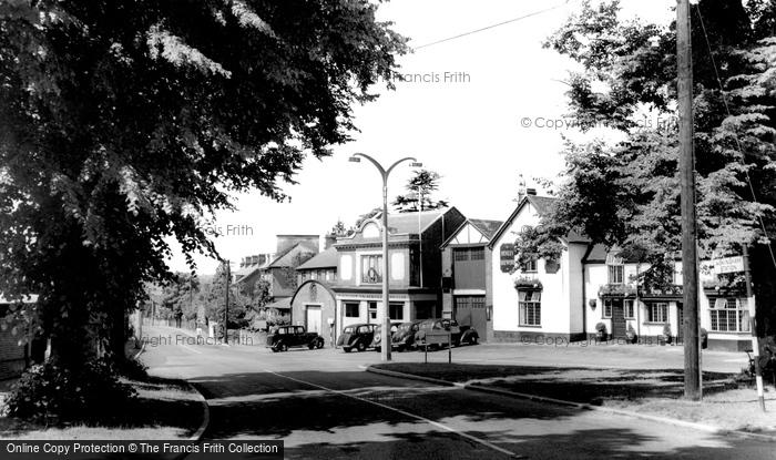Photo of Wokingham, Station Road c.1955