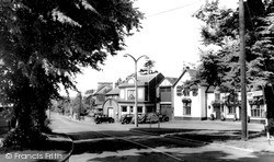 Wokingham, Station Road c.1955