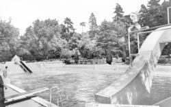 Wokingham, Swimming Pool c.1965