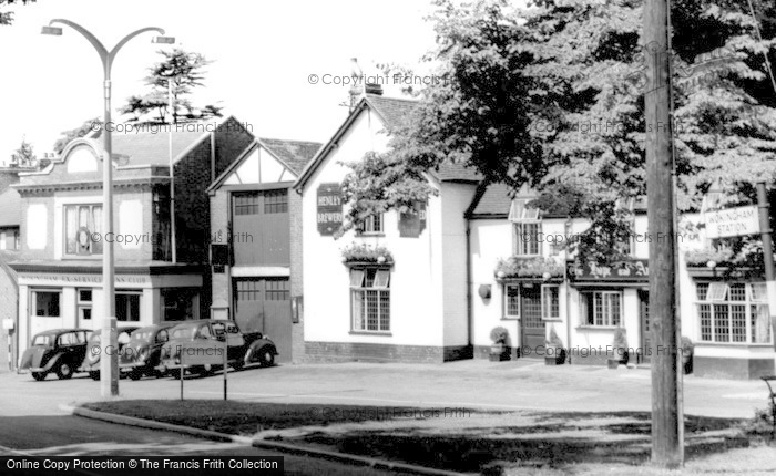 Photo of Wokingham, the Hope and Anchor  c1955