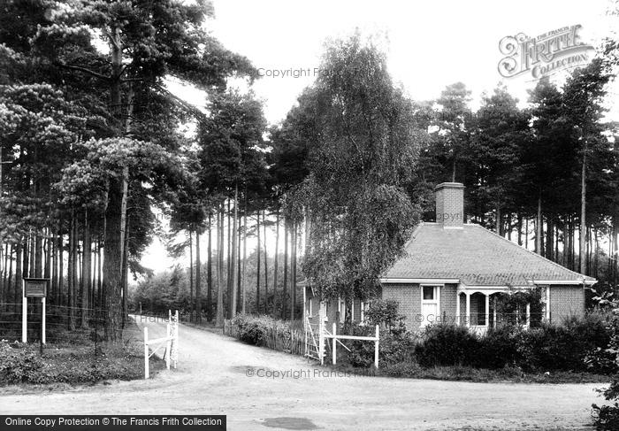 Photo of Wokingham, The Lodge, London Open Air Sanatorium 1909