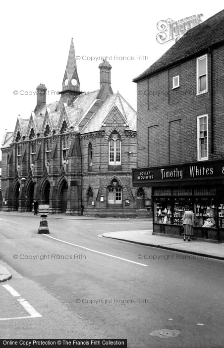 Photo of Wokingham, The Town Hall c.1955