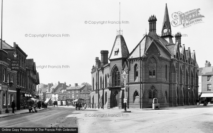 Photo of Wokingham, Town Hall 1906