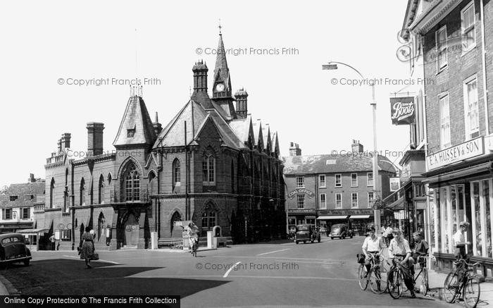 Photo of Wokingham, Town Hall c1955