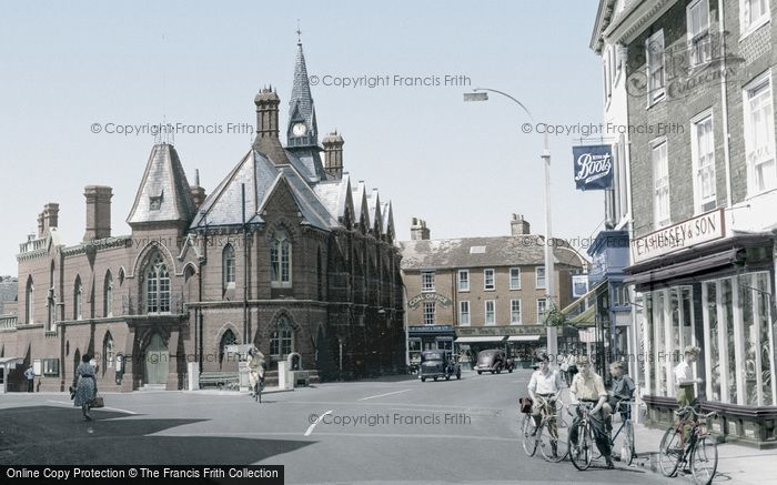 Photo of Wokingham, Town Hall c.1955