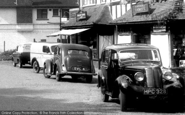 Photo of Woldingham, Hillman Minx c.1955