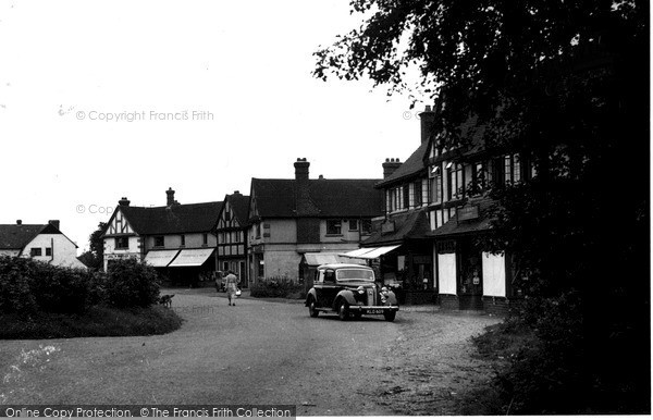 Photo of Woldingham, The Crescent c.1955