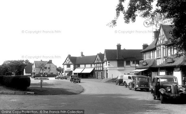 Photo of Woldingham, The Cresent c.1955