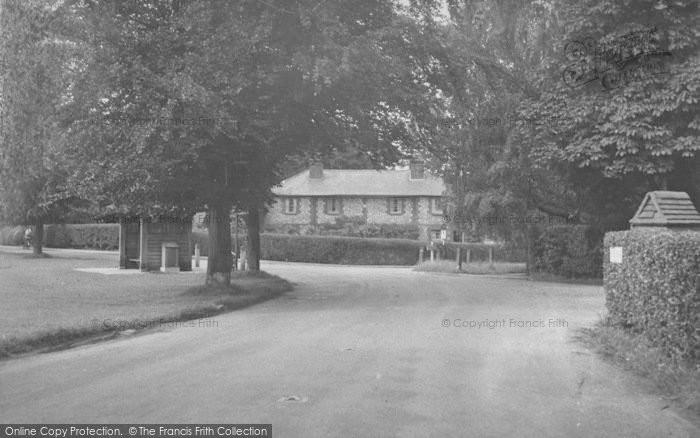 Photo of Woldingham, The Village c.1955