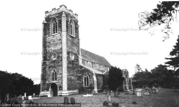 Photo of Wolferton, St Peter's Church c.1955