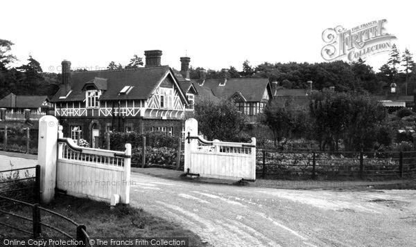 Photo of Wolferton, The Post Office c.1955