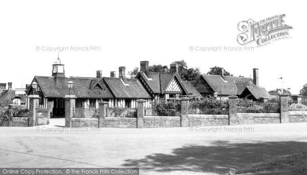 Photo of Wolferton, The Station c.1955