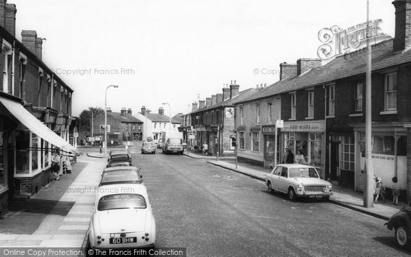 Wollaston, Bridgnorth Road 1968