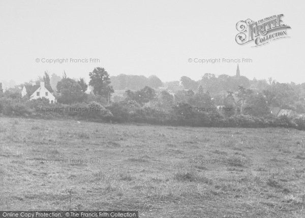 Photo of Wollaston, General View From Red Hill c.1955