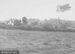 Wollaston, General View From Red Hill c.1955