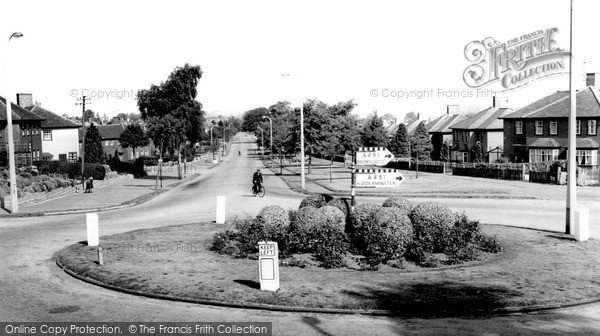 Wollaston, High Park Avenue c1960