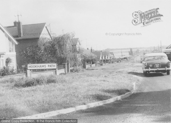 Photo of Wollaston, Hookhams Path c.1960
