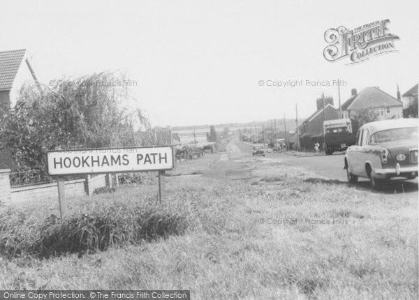 Photo of Wollaston, Hookhams Path c.1960