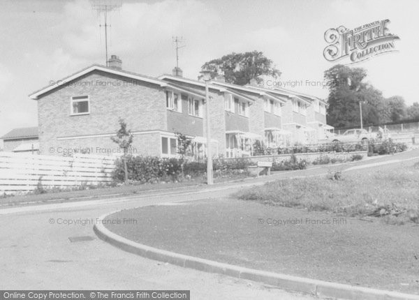 Photo of Wollaston, Orchard Close c.1960