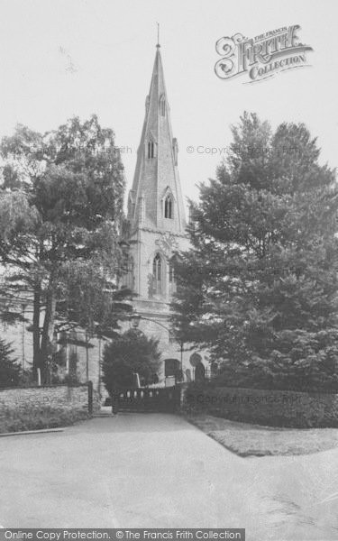 Photo of Wollaston, The Church c.1955