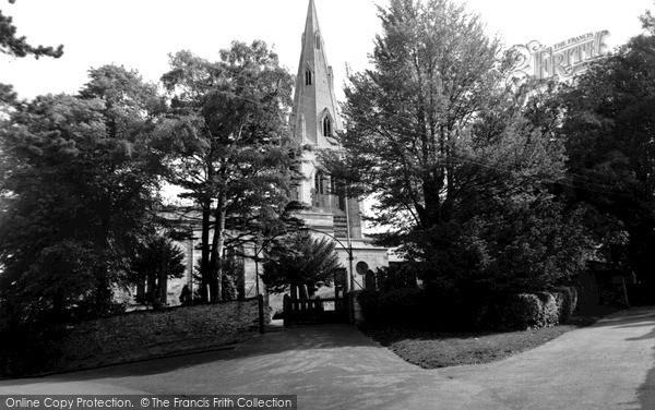 Photo of Wollaston, The Church c.1955