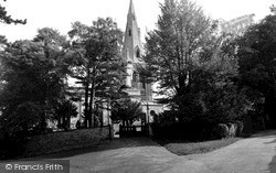 Wollaston, The Church c.1955