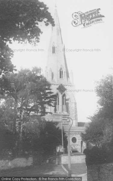 Photo of Wollaston, The Church c.1960