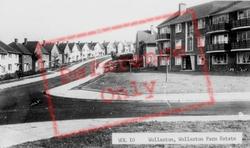Wollaston Farm Estate c.1960, Wollaston