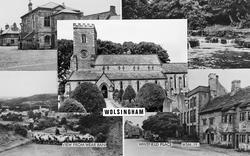 Wolsingham, Composite c.1955